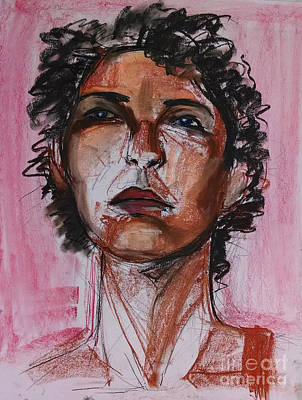 Drawing - Pink  by Gabrielle Wilson-Sealy