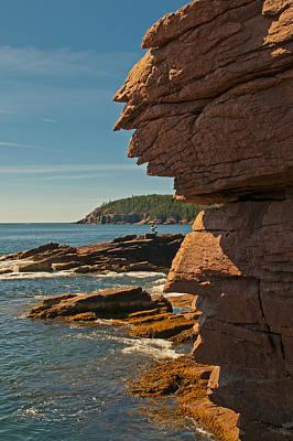 Photograph - Pink Granite Coast by Paul Mangold