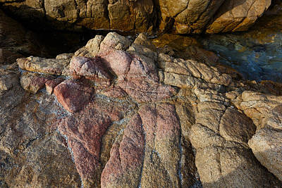 Photograph - Pink Granite by Paul Indigo