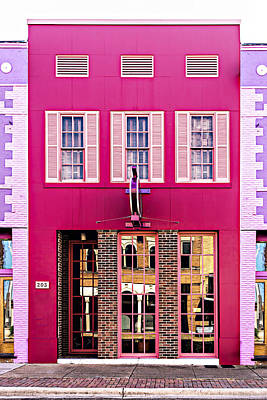 Photograph - Main Street Hotel by Maria Coulson