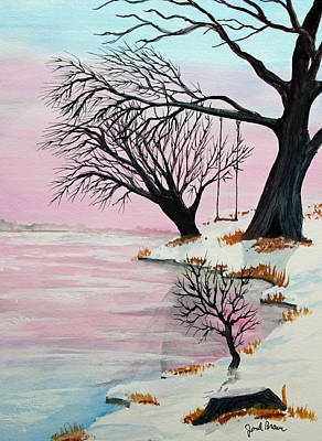 Jack Brauer Painting - Pink Ice by Jack G  Brauer