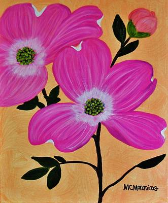 Painting - Pink Ladies by Celeste Manning