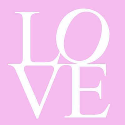 Heart Images Digital Art - Pink Love by Georgia Fowler