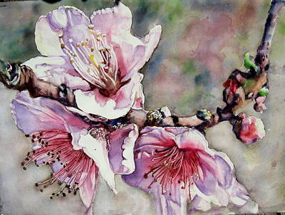 Painting - Pink Magnolias by June Conte Pryor
