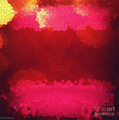 Photograph - Pink Mosaic by Anita Lewis