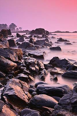 Photograph - Pink Odiorne Sunrise  by Jeff Sinon