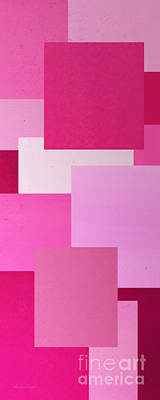 Digital Art - Pink On Pink Panorama 2 by Andee Design