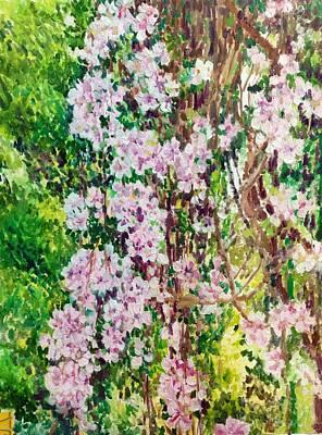 Painting - Pink Ones by Aditi Bhatt