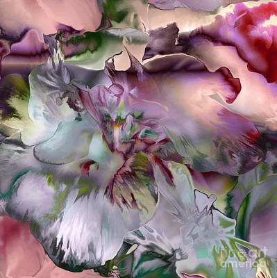 Digital Art - Pink Petals by Ursula Freer