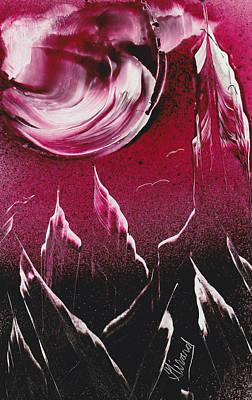 Painting - Pink Plummet by Jason Girard