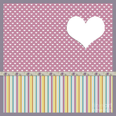 Photograph - Pink Polka Heart by Nina Ficur Feenan