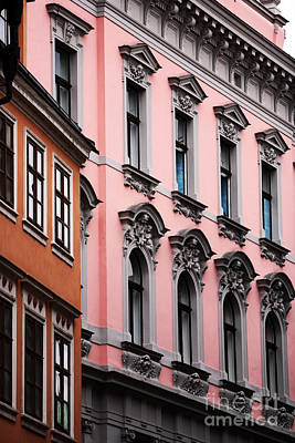 Photograph - Pink Prague by John Rizzuto