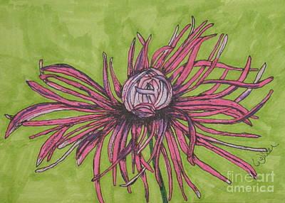 Pink Rhapsody Art Print by Marcia Weller-Wenbert
