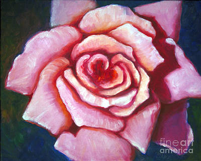 Painting - Pink Rose by Audrey Peaty