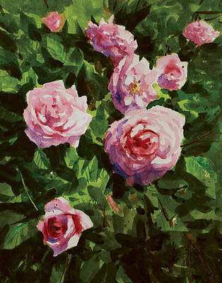 Painting - Pink Rose by Helal Uddin