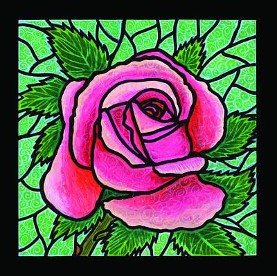 Pink Rose Number 5 Art Print by Jim Harris