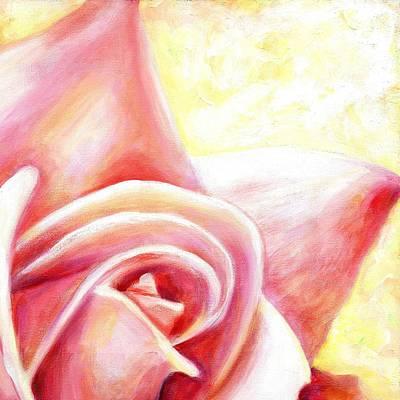 Pink Rose Two B Art Print