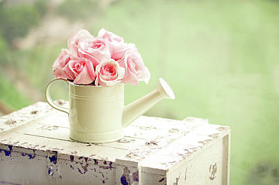 Photograph - Pink Roses by By Lili Ana