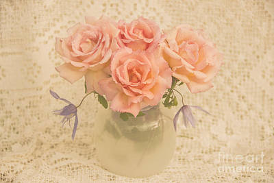 Photograph - Pink Roses by Gry Thunes