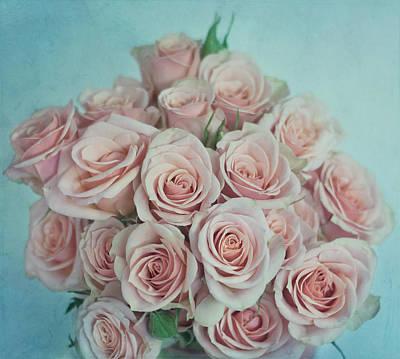 Kim Photograph - Pink Roses by Kim Hojnacki