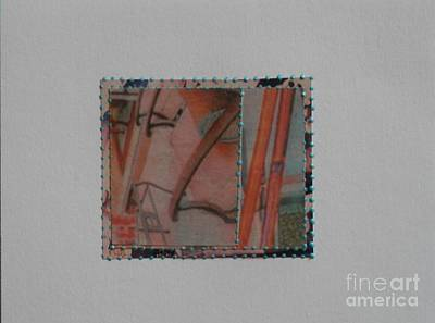 Mixed Media - Pink Sailing by L Cecka