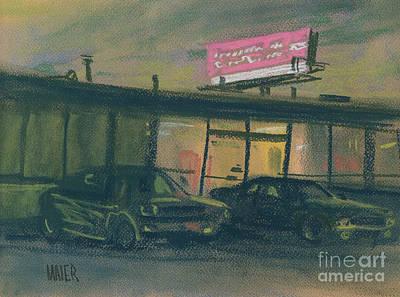 Pink Sign Original by Donald Maier