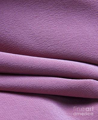 Photograph - Pink Silk Crepe by Liz Leyden