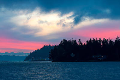 Photograph - Pink Sky At Dawn by E Faithe Lester