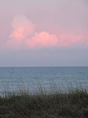 Pink Sky Art Print by Cheryl Smith