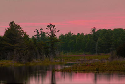 Photograph - Pink Sky In The Morning by Jim Vance