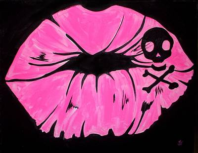 Painting - Pink Smooch by Marisela Mungia