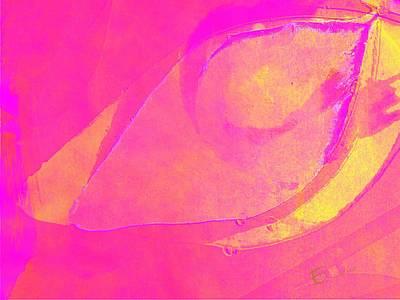 Pink Soul Dance Art Print by Ernestine Manowarda