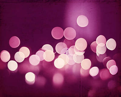 Photograph - Pink Sparkle by Carolyn Cochrane