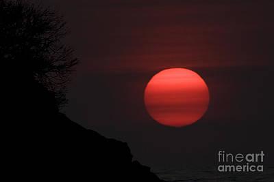 Pink Sun Original by Lucas Guardincerri