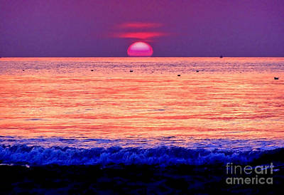 Photograph - Pink Sun by Nina Ficur Feenan