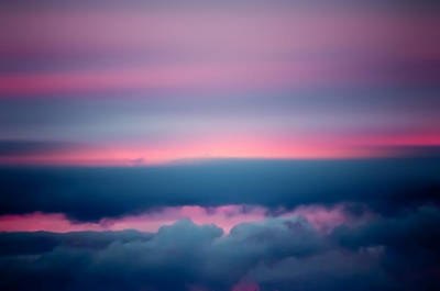 Photograph - Pink Sunset by Cara Moulds