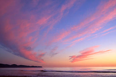 Photograph - Pink Sunset by Ginny Barklow