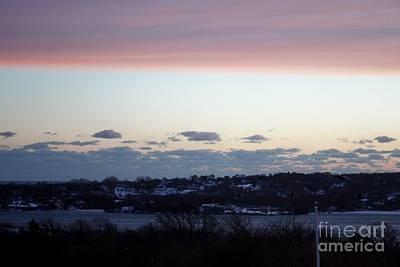 Photograph - Pink Sunset Over Montauk by John Telfer