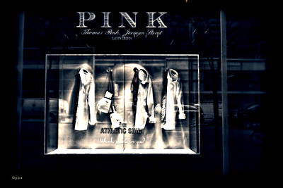 Photograph - Pink - The Athletic Shirt by Paulette B Wright