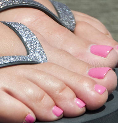 1-war Is Hell Royalty Free Images - Pink Toes Royalty-Free Image by Steven Natanson