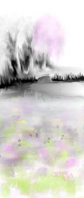 Pink Tree #2 Art Print