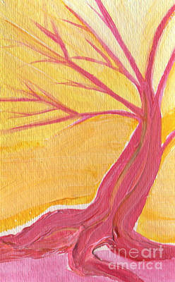 Painting - Pink Tree By Jrr by First Star Art