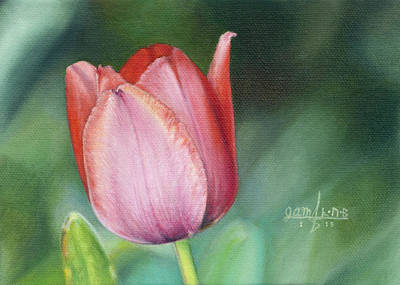 Painting - Pink Tulip by Joshua Martin