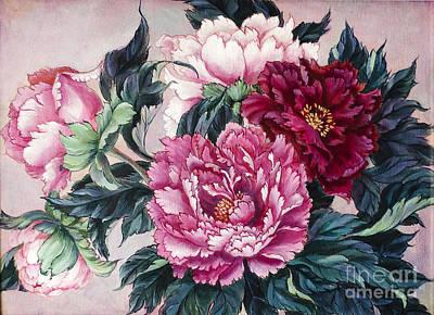 Pink Velvet Original by Irina Effa