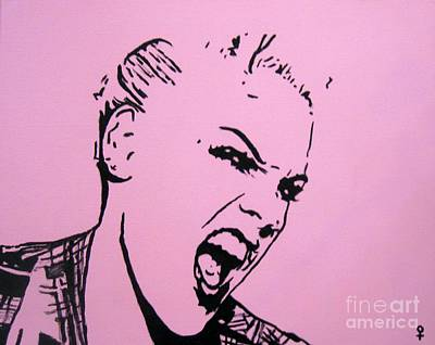 Pink Art Print by Venus