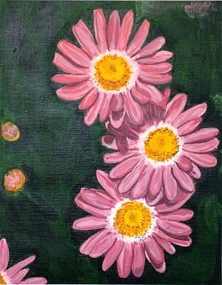 Painting - Pink by Vera Lysenko