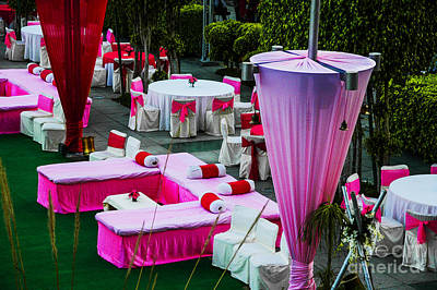 Photograph - Pink Wedding by Rick Bragan