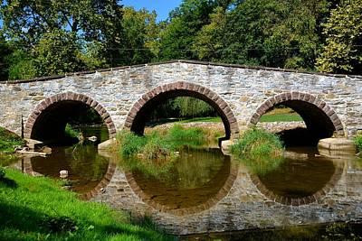 Photograph - Pinkerton Road Bridge by Tana Reiff