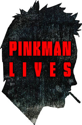 Fandom Digital Art - Pinkman Lives by Michelle Murphy