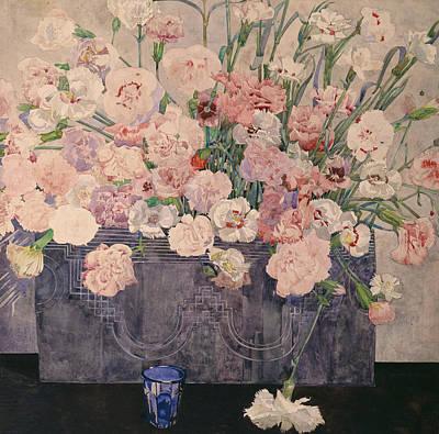 Pinks Art Print by Charles Rennie Mackintosh